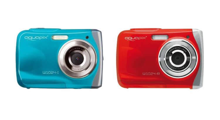 Migliore fotocamera per bambini:Fotocamera impermeabile Aquapix Splash W1024-P di Easypix