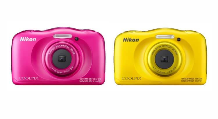 Migliore fotocamera per bambini:Fotocamera digitale compatta Coolpix S33 di Nikon