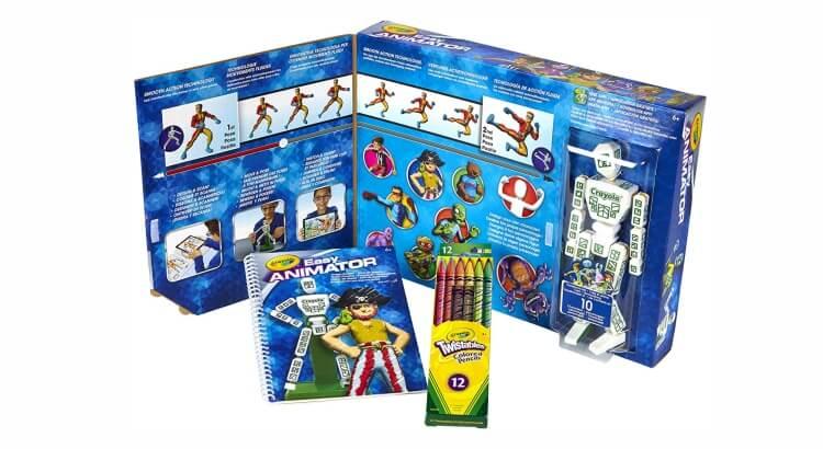 Migliore fotocamera per bambini:Color Alive Easy Animation Studio di Crayola