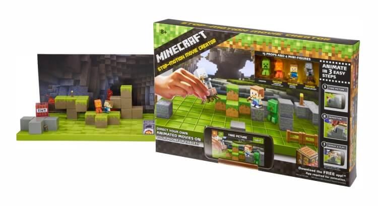 Migliore fotocamera per bambini:Minecraft Stop-Motion Movie Creator di Mattel