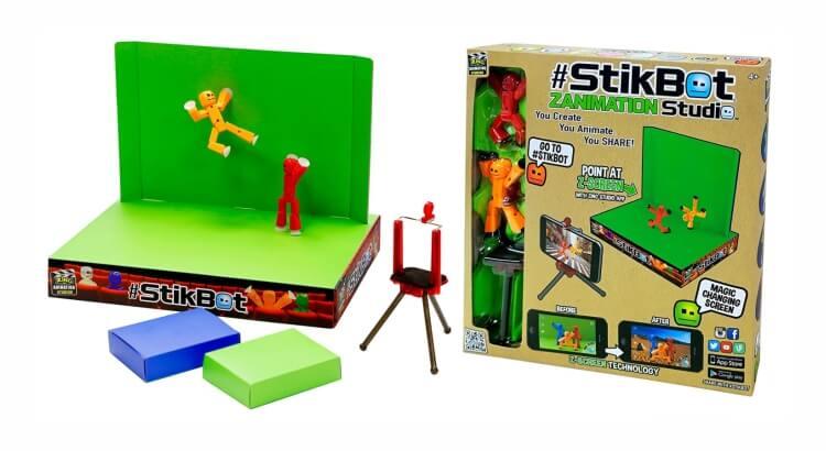 Migliore fotocamera per bambini:StikBot Zanimation Studio di Toy Shed