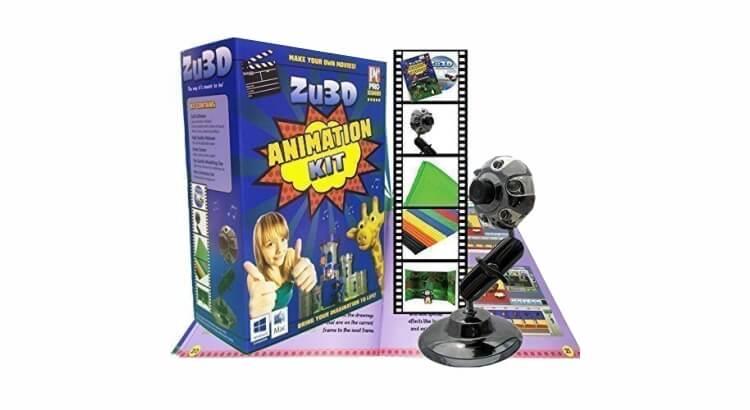 Migliore fotocamera per bambini:Kit d'animazione Zu3D di Zulogic