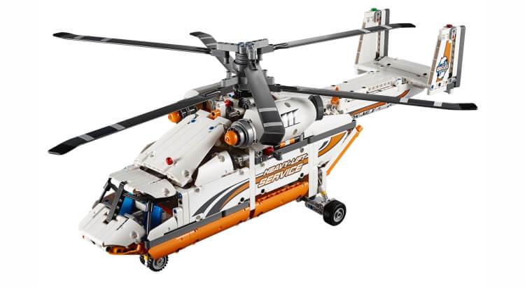 Migliori set Lego Technic:Elicottero da carico di LEGO Technic