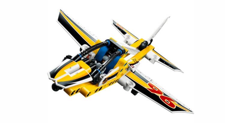 Migliori set Lego Technic:Jet acrobatico di LEGO Technic