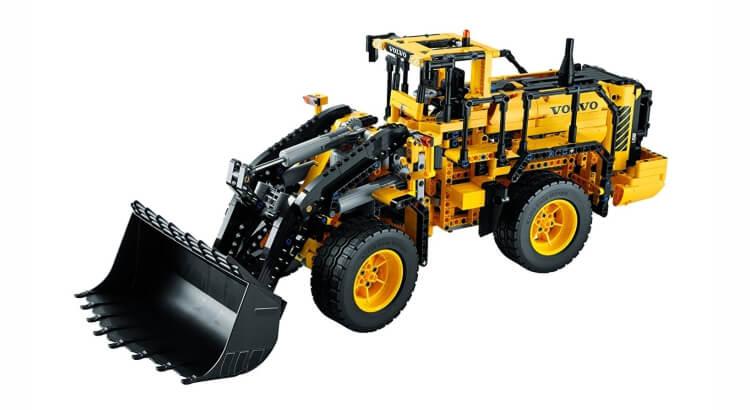 Migliori set Lego Technic:Ruspa Volvo L350F telecomandata di LEGO Technic