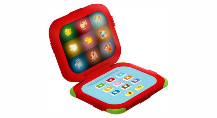 Migliori giochi interattivi per bambini di 2 anni: Baby Laptop Carotina di Lisciani
