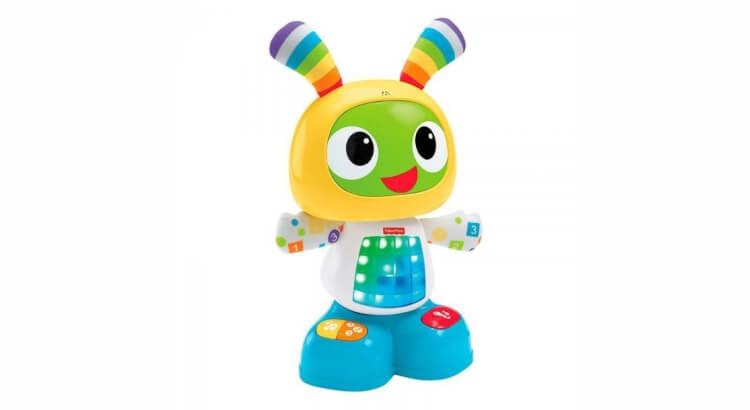 Migliori giochi interattivi per bambini di 2 anni: Robottino Ballerino BeatBo di Fisher-Price