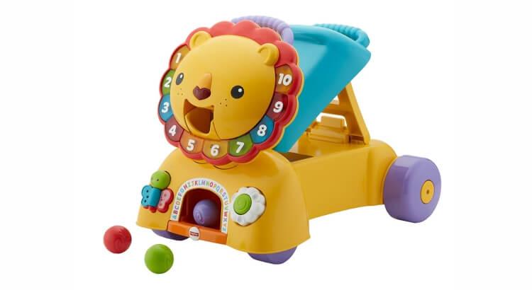 Migliori giochi interattivi per bambini di 2 anni: Leoncino Primi Passi 3-in-1 di Fisher-Price