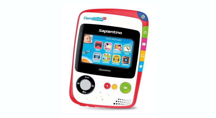 Giocattoli STEM per bambini di 2-4 anni: Console Educativa Clemstation 4.0 di Clementoni