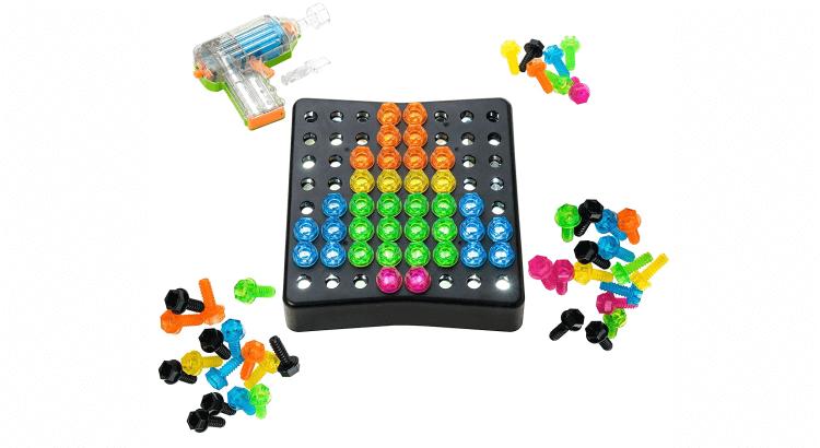 Giocattoli STEM per bambini di 2-4 anni: Drill & Design Brightworks di Educational Insights