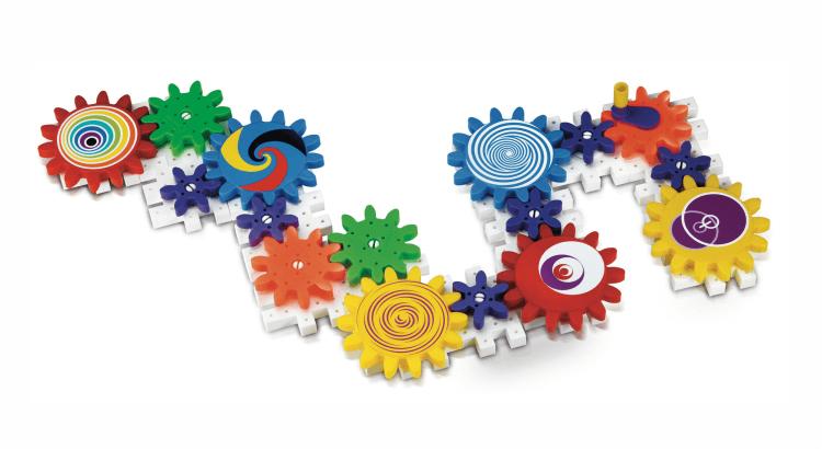 Giocattoli STEM per bambini di 2-4 anni: Kaleido Gears di Quercetti