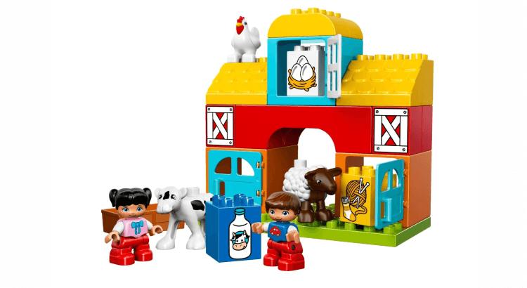 Giocattoli STEM per bambini di 2-4 anni: Costruzioni DUPLO My First La Mia Prima Fattoria di LEGO DUPLO