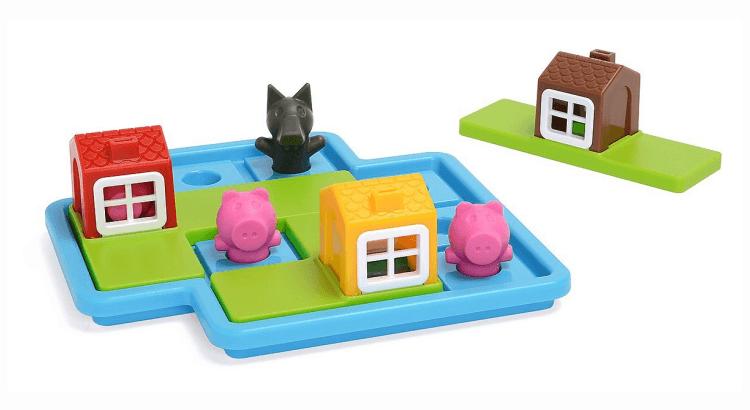 Giocattoli STEM per bambini di 2-4 anni: I Tre Piccoli Porcellini di Smart Games