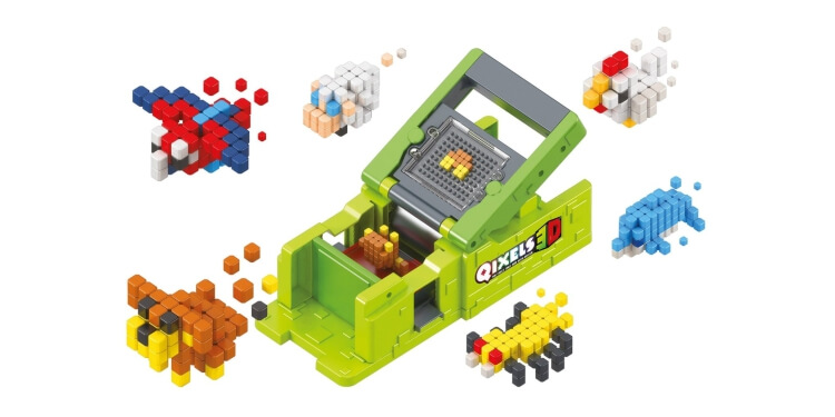 Giocattoli STEM per bambini di 5-7 anni: Giocattolo di costruzione 3D Qixels 3D di Qixels