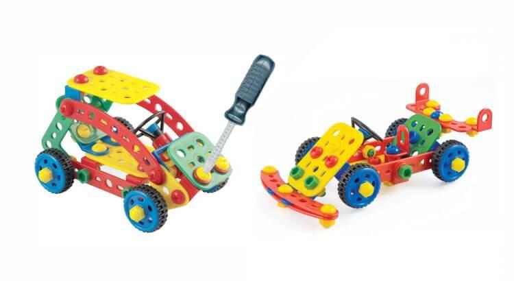 Giocattoli STEM per bambini di 5-7 anni: Tecno Toolbox di Quercetti