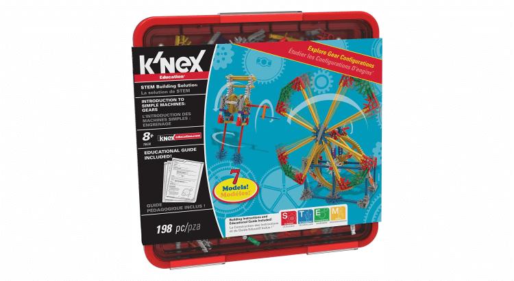 Giocattoli educativi di ingegneria: Set di introduzione ai meccanismi di K'Nex