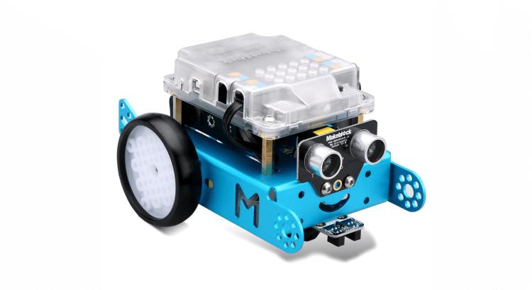 Migliori robot e kit di robotica: Robot programmabile mBot di Makeblock