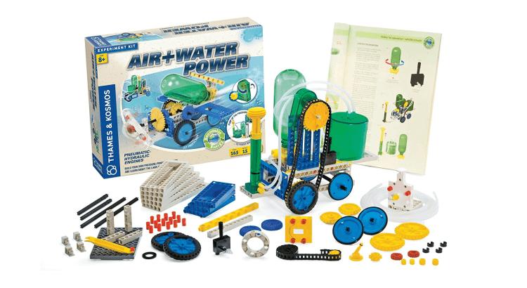 Giocattoli educativi di fisica e chimica: Kit scientifico Air+Water Power di Thames & Kosmos