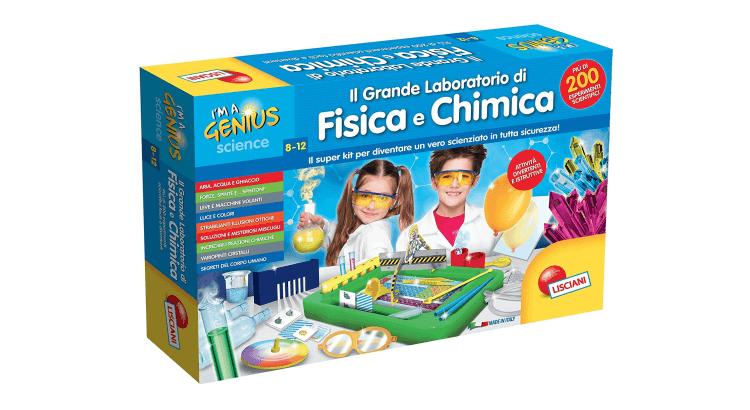 Giocattoli educativi di fisica e chimica: Il Grande Laboratorio di Chimica e Fisica di Lisciani