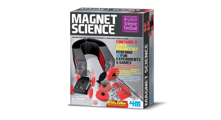 Giocattoli educativi di fisica e chimica: Toysmith Magnet Science di 4M