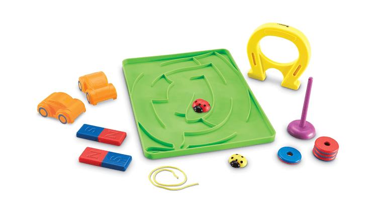 Giocattoli educativi di fisica e chimica: Stem Magnets Activity Set di Learning Resources