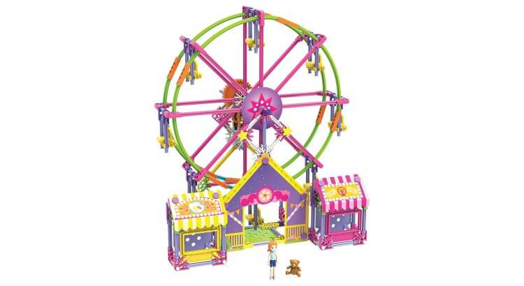Giocattoli educativi di ingegneria: Mighty Makers Ferris Wheel Set