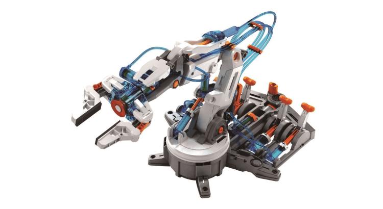 Migliori robot e kit di robotica: Braccio robotico idraulico di Science Discovery