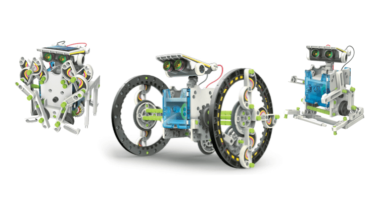 Migliori robot e kit di robotica: 14x1 Eco-Robot di ItsImagical