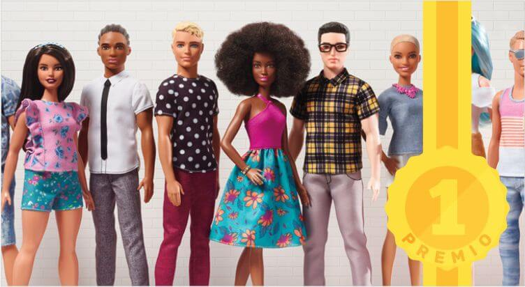 Toys Awards 2017, i vincitori e i nominati: Barbie Fashionistas – Mattel