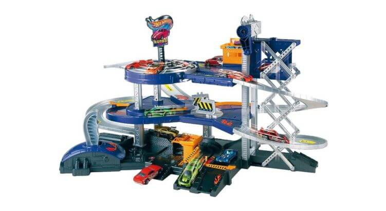Toys Awards 2017, i vincitori e i nominati: Hot Wheels Mega Garage – Mattel