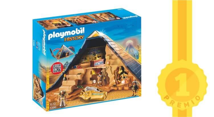 Toys Awards 2017, i vincitori e i nominati: Grande Piramide del Faraone - Playmobil