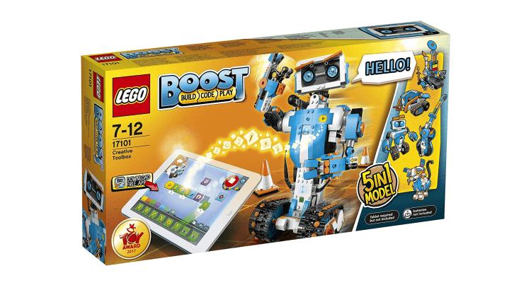 Natale 2017, le novità più interessanti dal mondo del giocattolo tecnologico: Lego Boost Creative Toolbox di LEGO