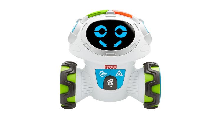 Natale 2017, le novità più interessanti dal mondo del giocattolo tecnologico: Roby Robot Pensa e Impara di Fisher-Price